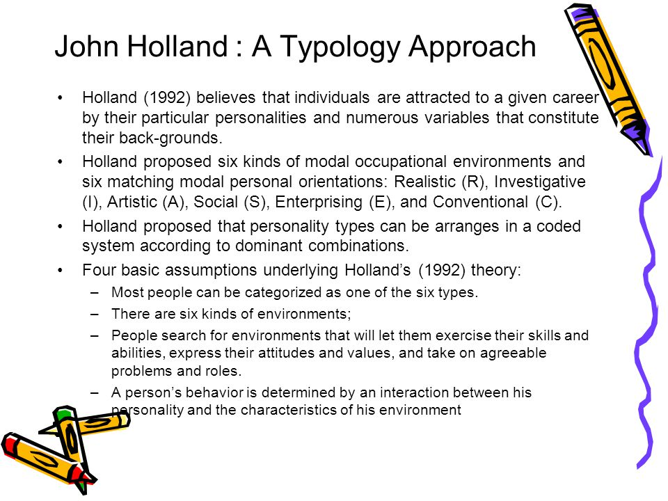 Holland Occupational Themes - YouTube