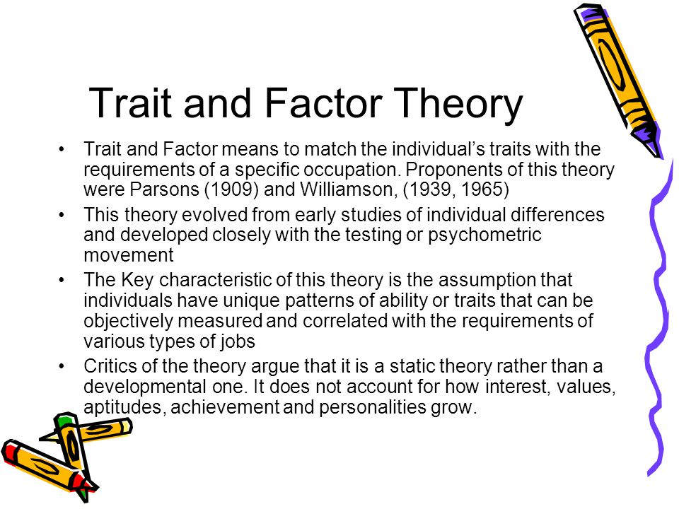 Behavior vs. Trait Appraisal