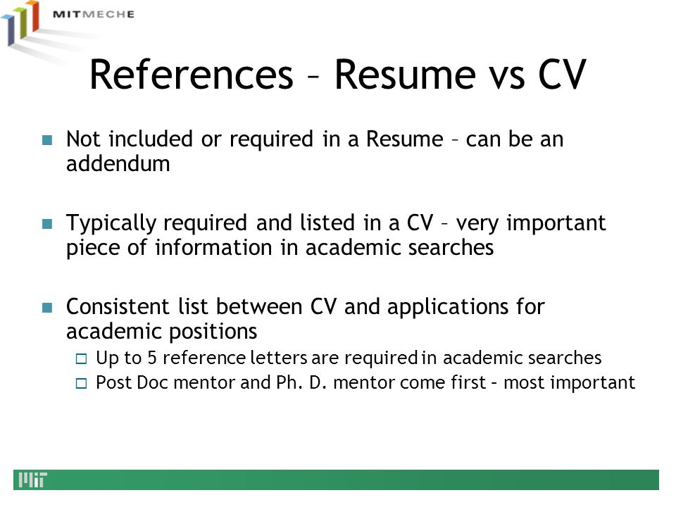 Job References For College Students