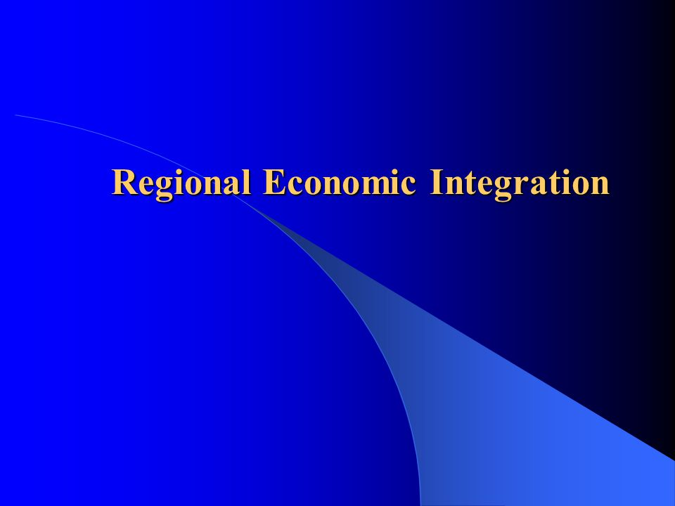 regional integration for and against articles essay