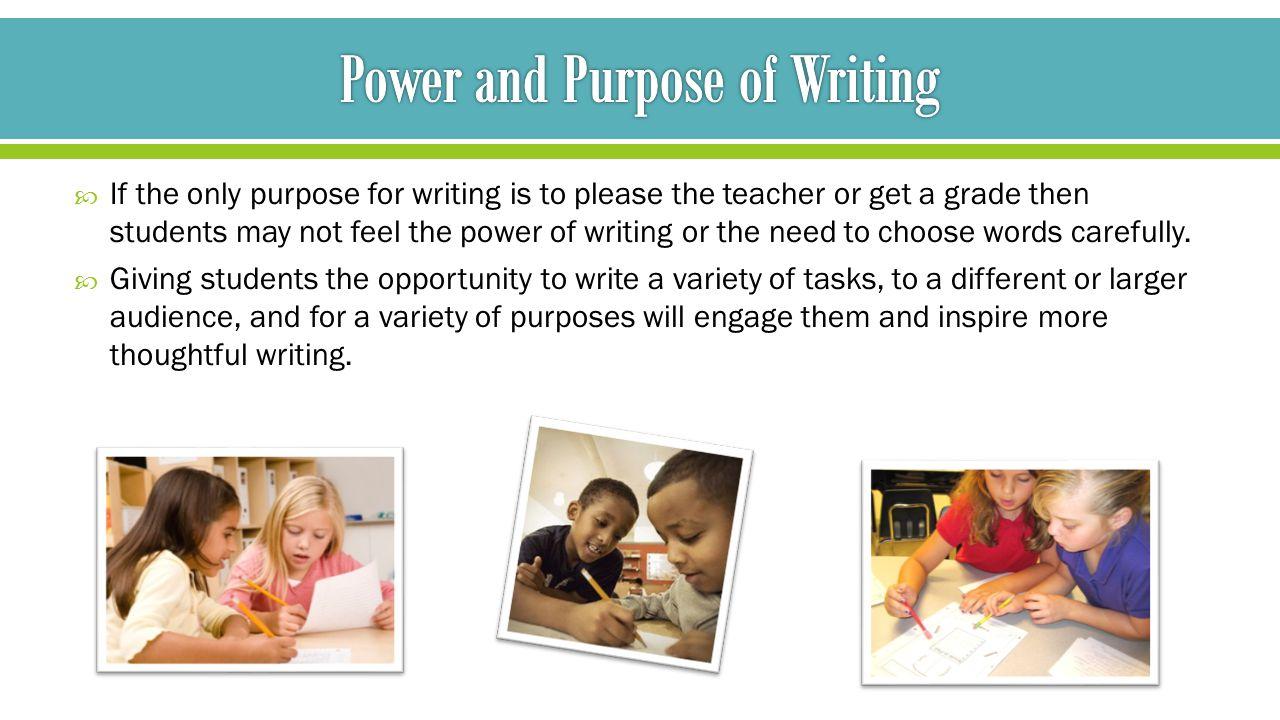 power of purpose essay contest