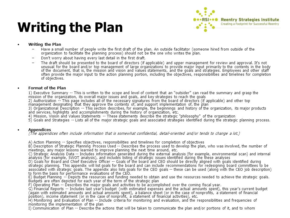 strategic plans essay Strategic planning refers to a course of action for outlining organizational objectives, carrying out planning to achieve those objectives, and measuring the usefulness of those strategies (kovner & knickman, 2011).