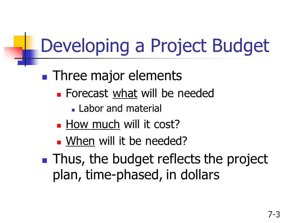 project cost estimation and budgeting pdf