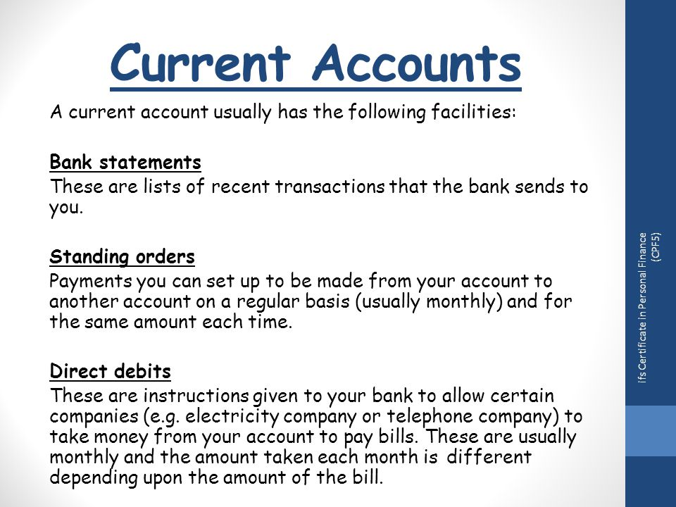 How many current accounts can you have ...