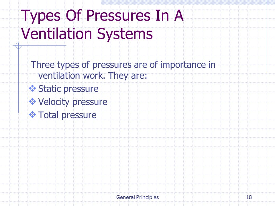 Types Of Ventilation Systems : Industrial ventilation ppt video online download
