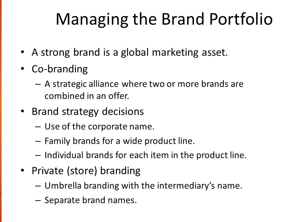 how to manage a strong brand When you have strong brand equity, your customers will buy more from you, they' ll  from strategic brand management: building, measuring, and managing.