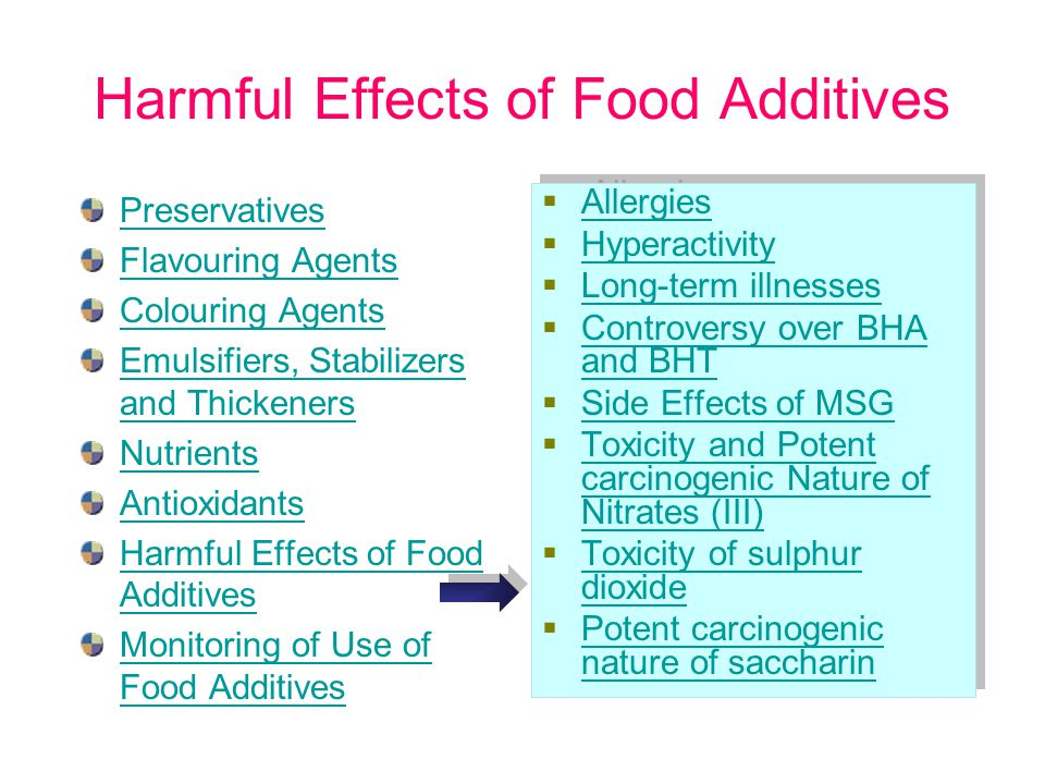 4 Dangers of Food Dyes