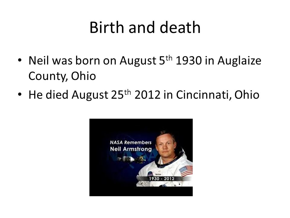 neil armstrong born cincinnati ohio - photo #20