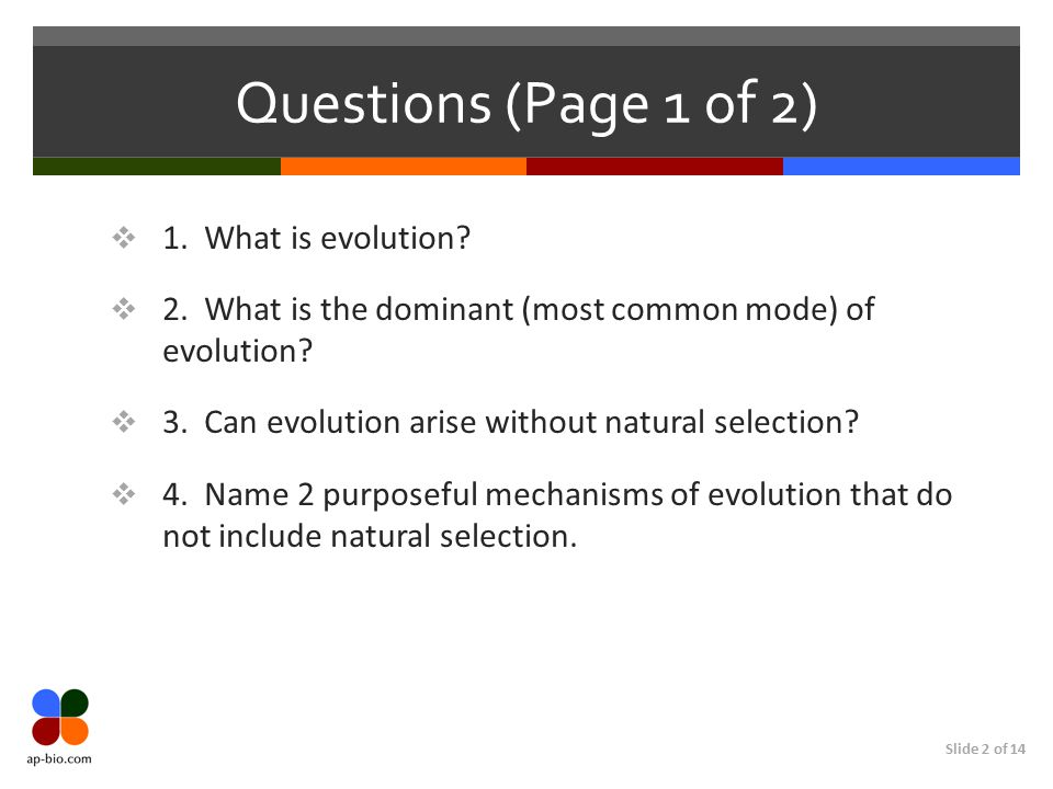 How Do Evolution And Natural Selection Differ