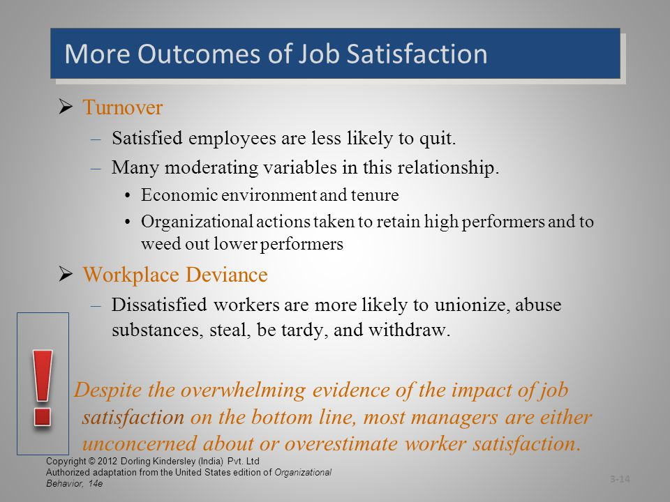 Global Implications Are Employees in Some Cultures More Satisfied With Their Jobs