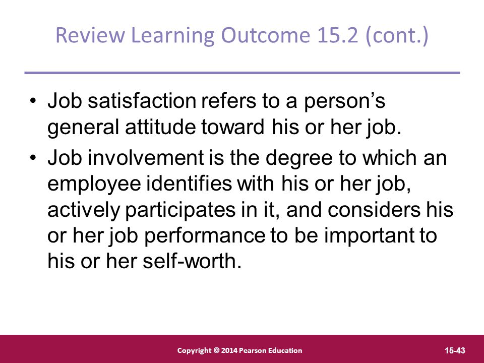 Review Learning Outcome 15.2 (cont.)