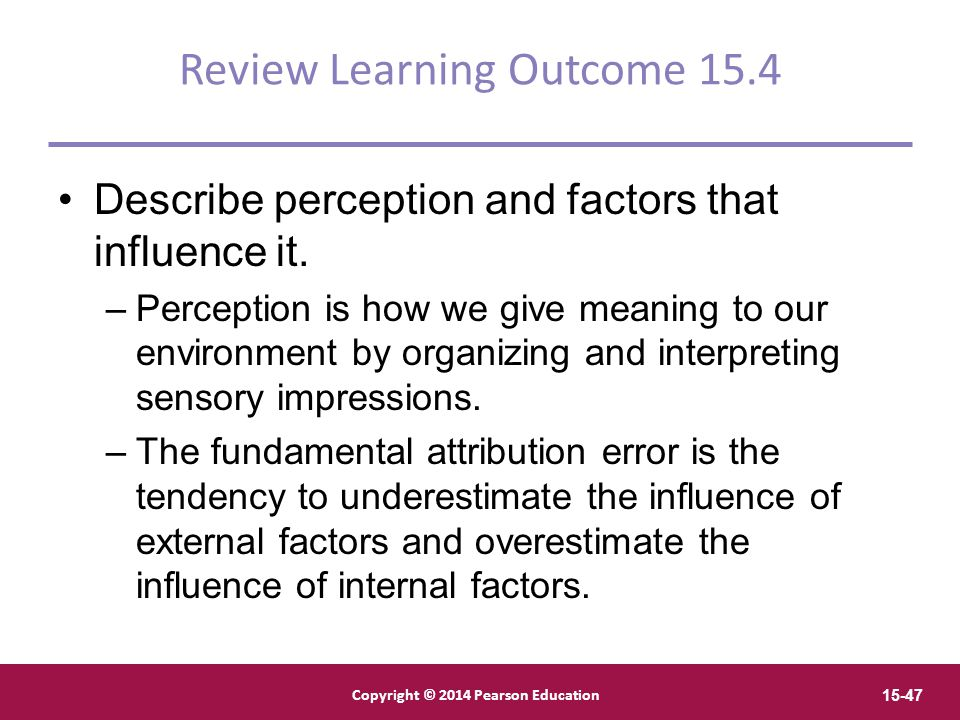 Review Learning Outcome 15.4