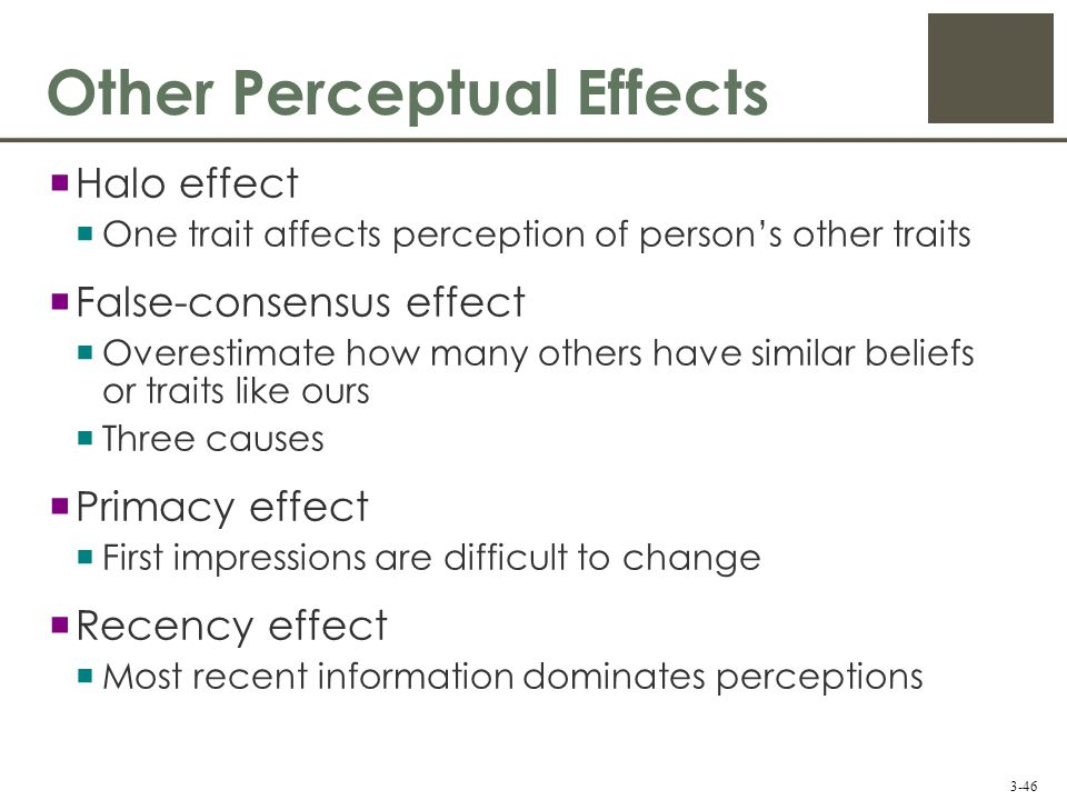 how perception affects other people Start studying psychology chapter 8 learn vocabulary, terms, and more with eva is a psychologist who examines people's perception of themselves and others, how this perception affects their relationships, and how the social environment influences people's perceptions, beliefs, and.