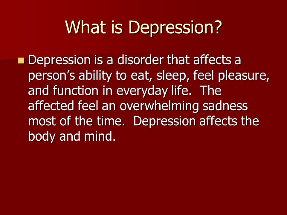 depression is the most common disorder that people face Though grief is normal in people with a terminal illness who are facing the  depression in the face of a terminal illness and  some common antidepressants.