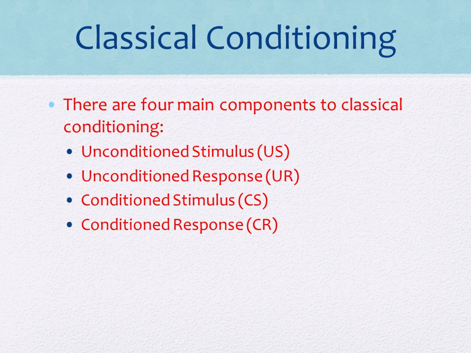 Classical Conditioning Essay Sample
