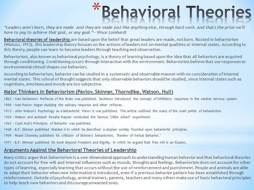8 major leadership theories pdf
