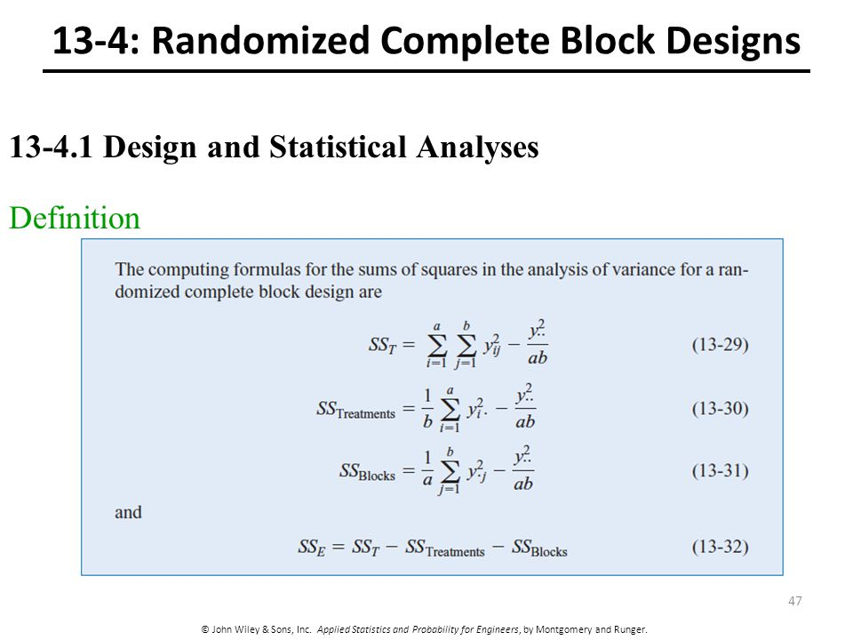 randomized complete block design example pdf