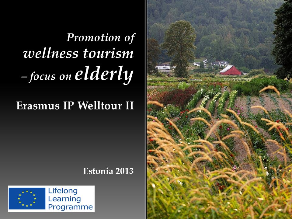 Promotion of wellness tourism – focus on elderly