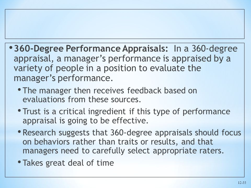 how to give performance feedback to manager