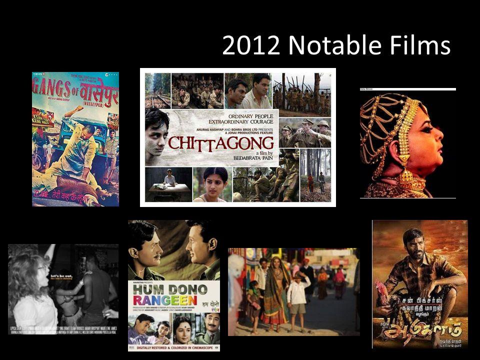 2012 Notable Films
