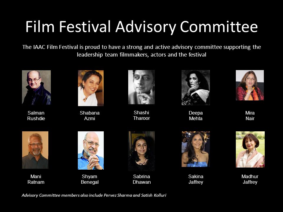 Film Festival Advisory Committee