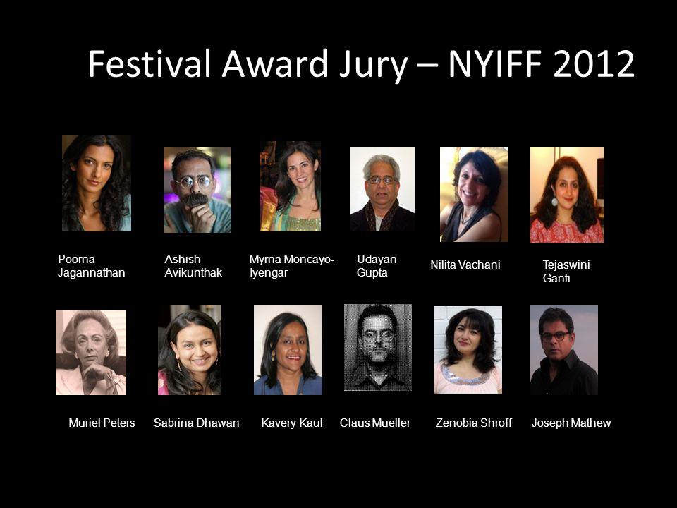 Festival Award Jury – NYIFF 2012