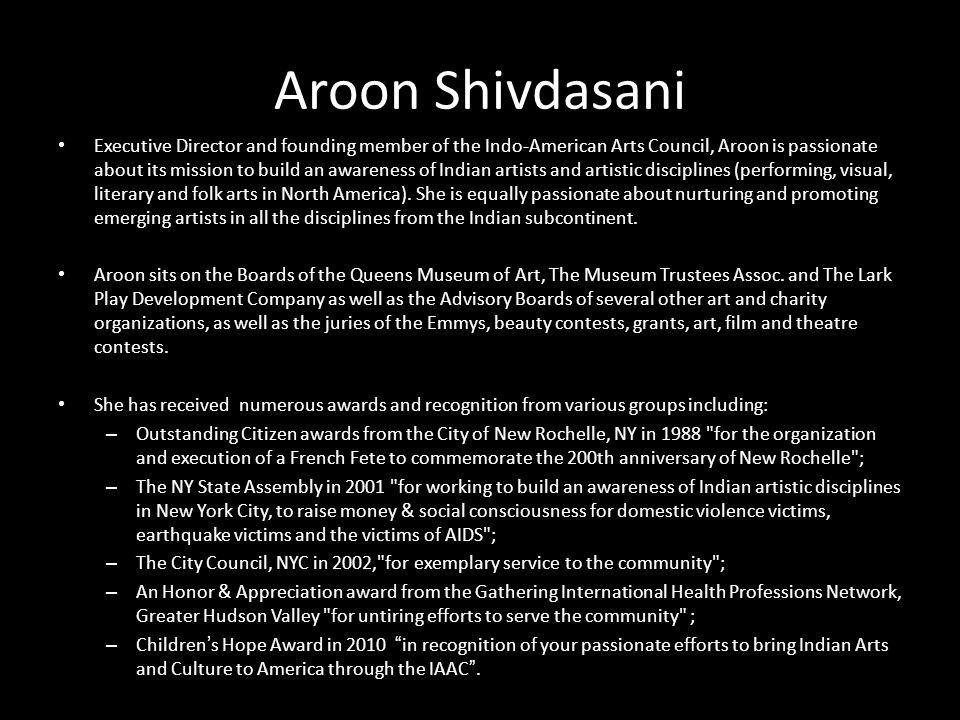 Aroon Shivdasani
