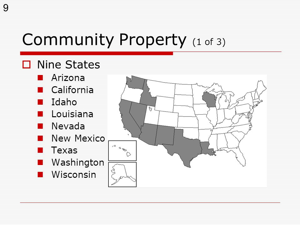 Is Wisconsin A Community Property State