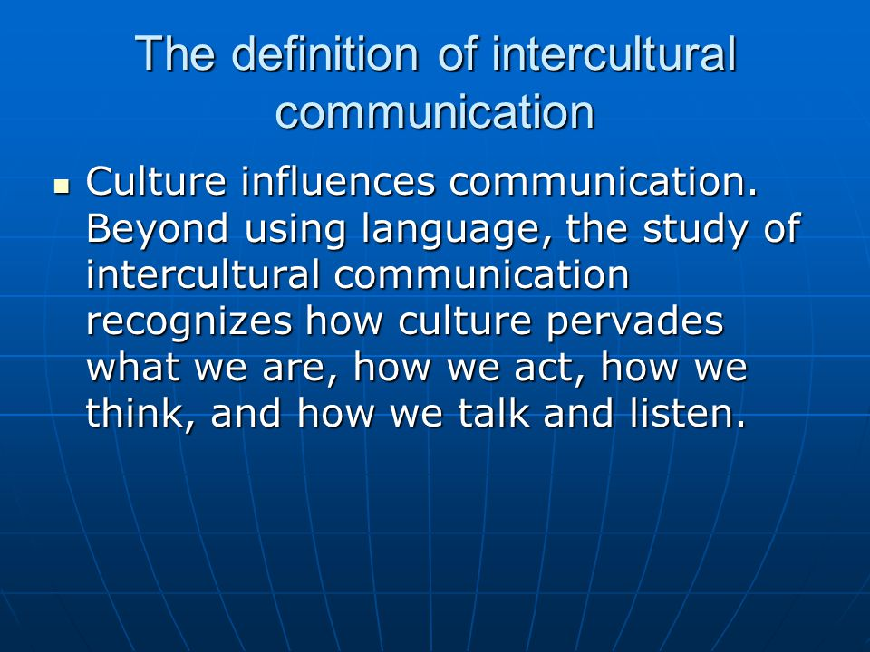 the media of intercultural communication and Students majoring in intercultural communication will develop skills in social media, digital media, language, and the arts to effectively communicate across cultures and in various career contexts.