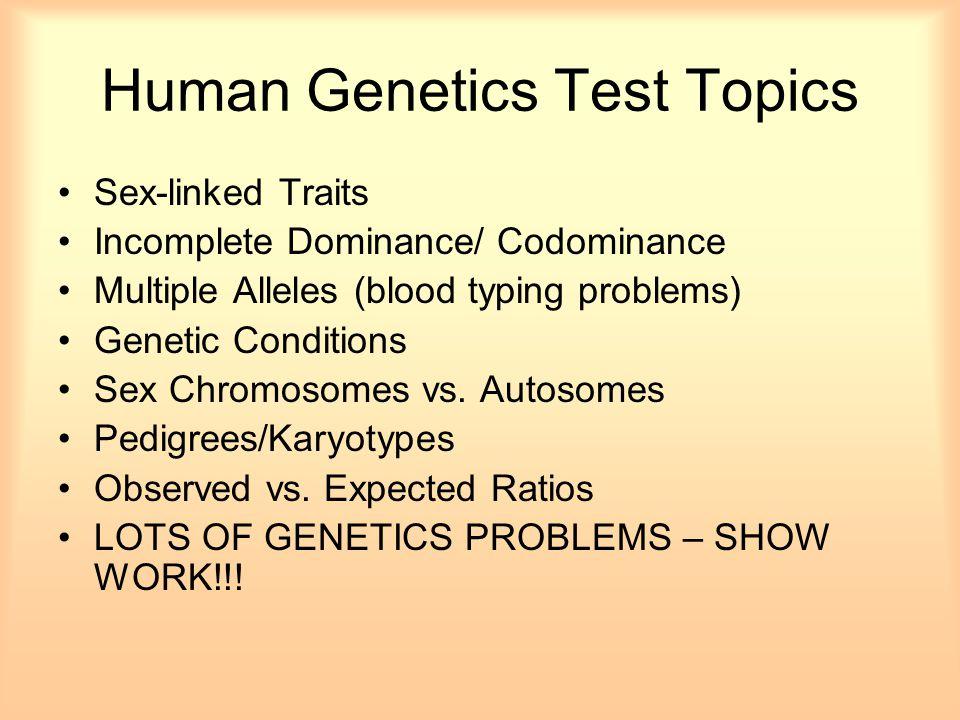 genetics practice problems