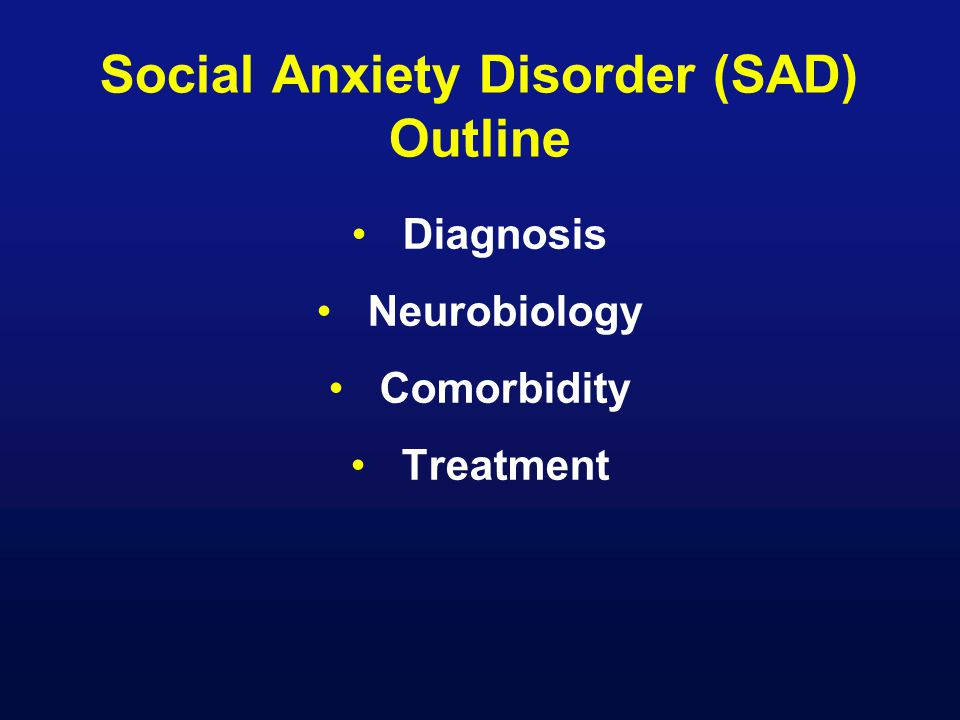 social anxiety disorder treatment pdf