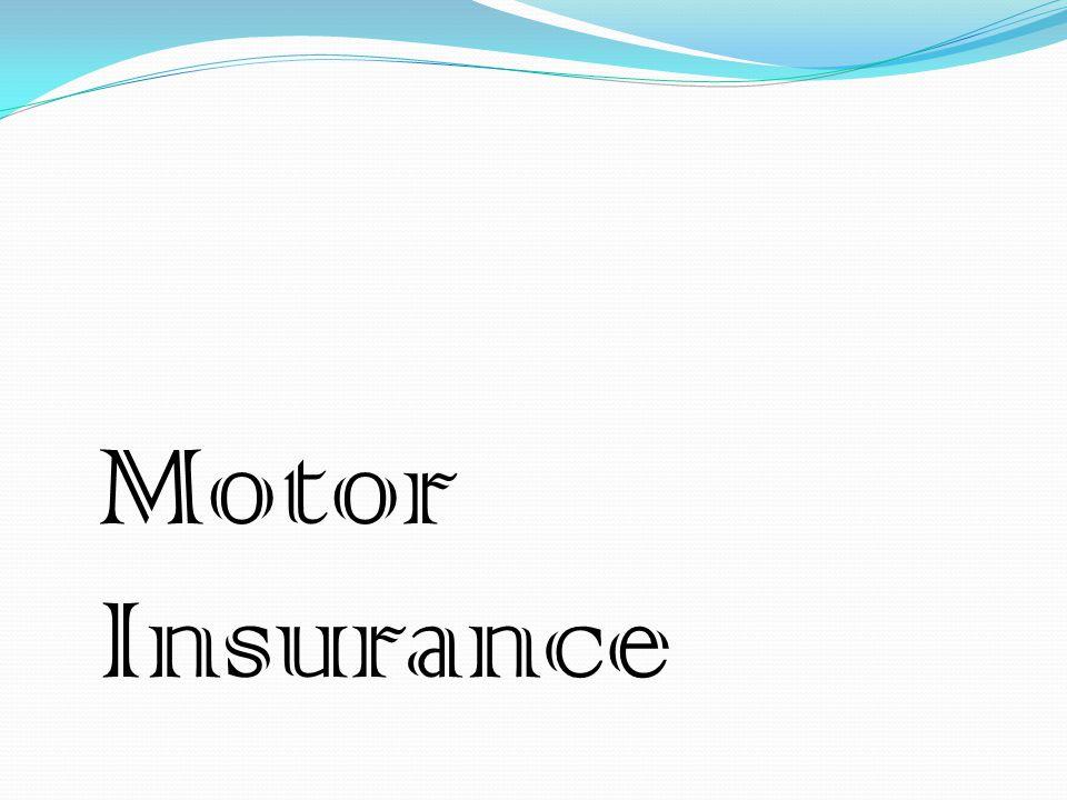 Motor Insurance Burglary And Personal Accident Insurance