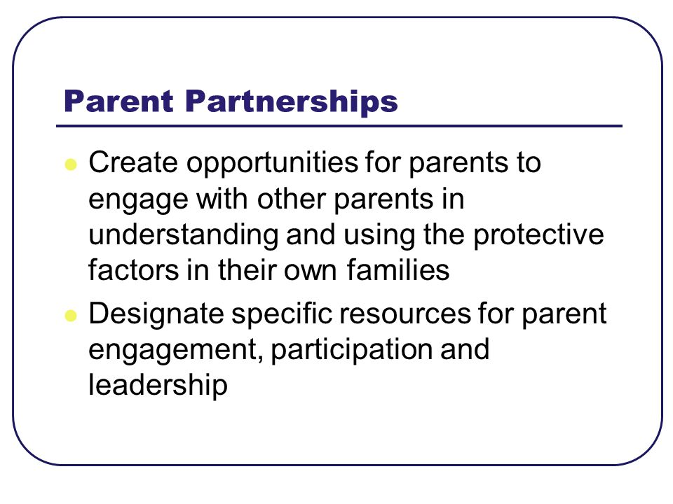 Parent Partnerships