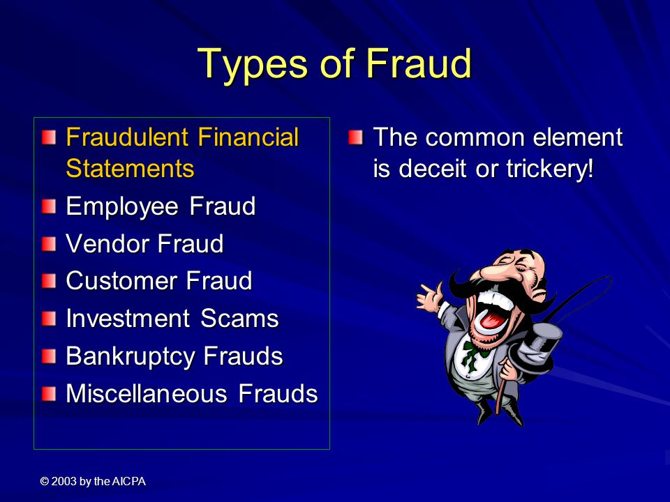 financial statements fraud Though it's likely that the first corporate fraud occurred shortly after the formation of the first corporation, the subject of fraud has entered the public consciousness only occasionally.