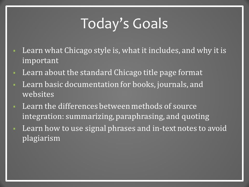 Transitional Style What It Is And How To Capture It: Chicago Style: The Basics Dr. Robert T. Koch Jr.,