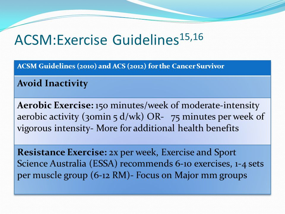 Physical Activity and Cancer: It's Not Too Late