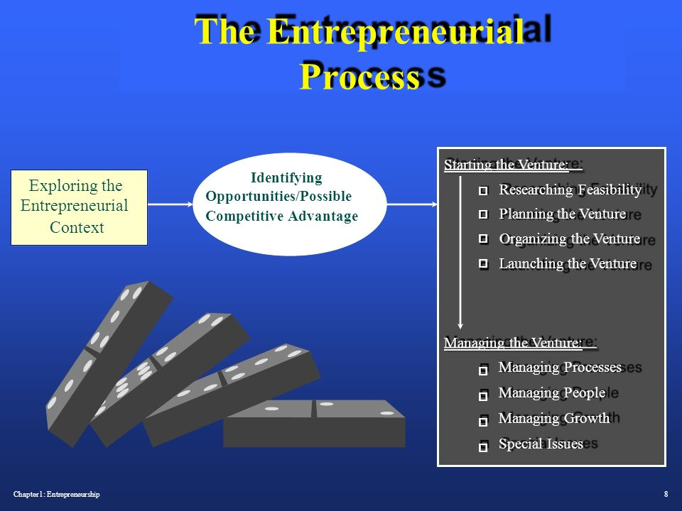 The Entrepreneurial Process Starting the Venture: Identifying