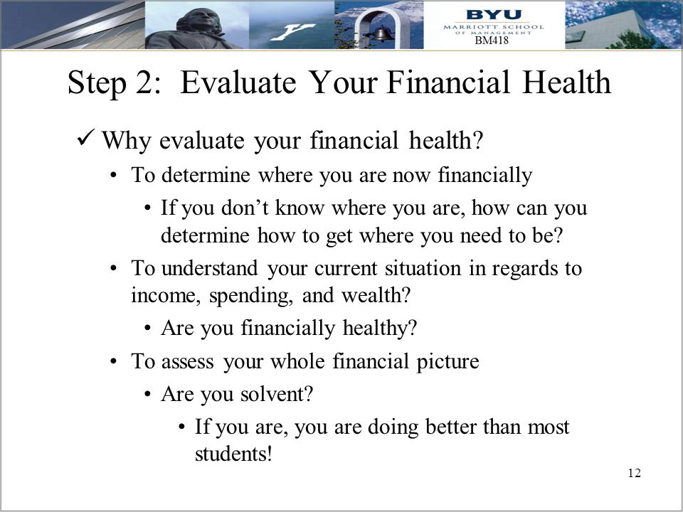 evaluating financial health Business builder 6 how to analyze your business using financial ratios  most powerful and widely-used tools for analyzing the financial health of your company.