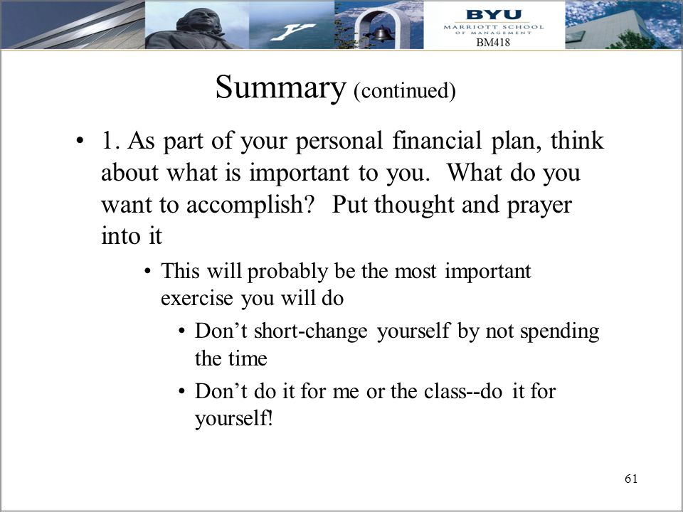 Personal Finance Another Perspective  Ppt Download