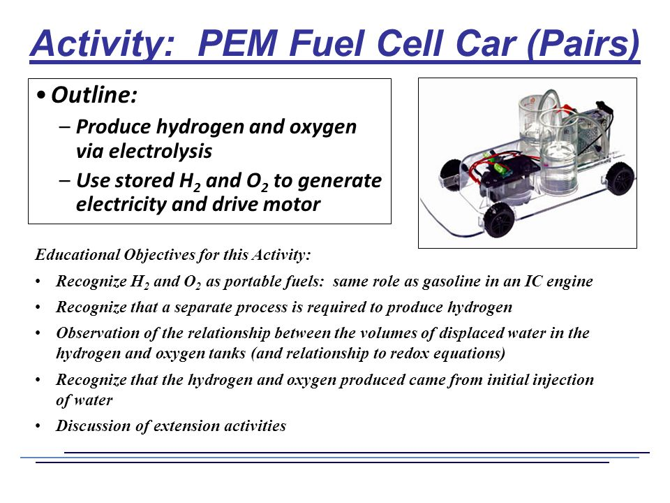 pem fuel cells How much electricity does a pem fuel cell produce, and how efficiently.