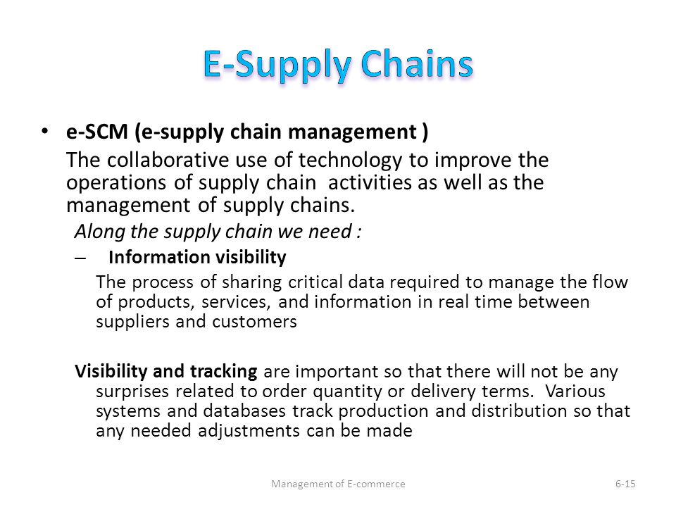 an overview of the electronic data interchange between suppliers and wal mart Walmart has not only transformed its own supply chain but influenced how  use  of electronic data interchange (edi) for computerized ordering from vendors.