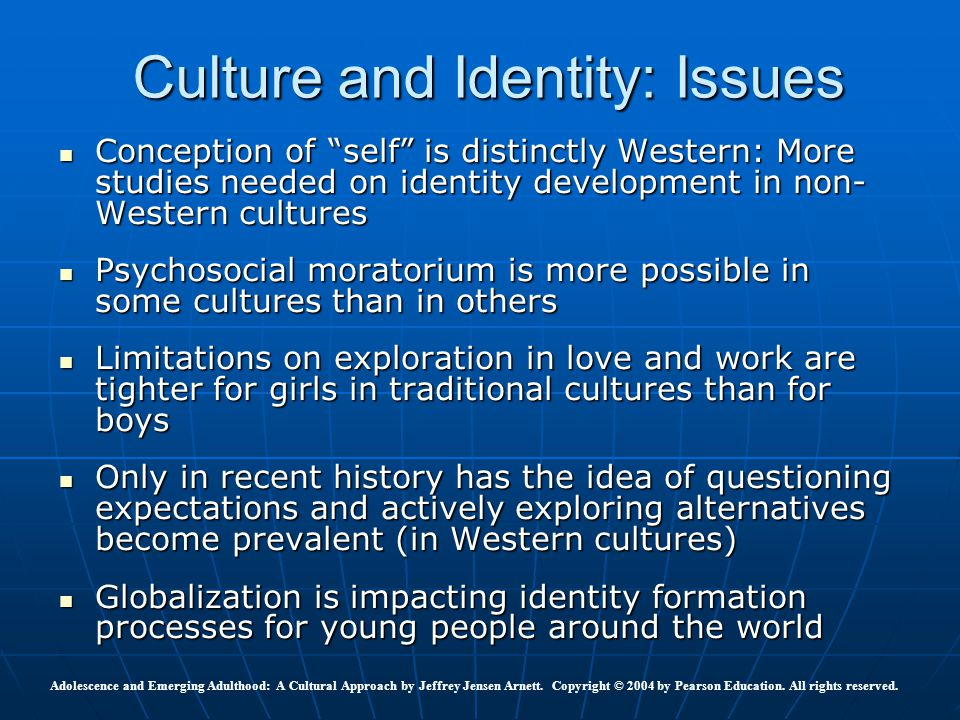 culture self identity and work Laura appell-warren's research focuses on personhood, self and identity  in a given culture, as well as a self-critical understanding  field work was done in.