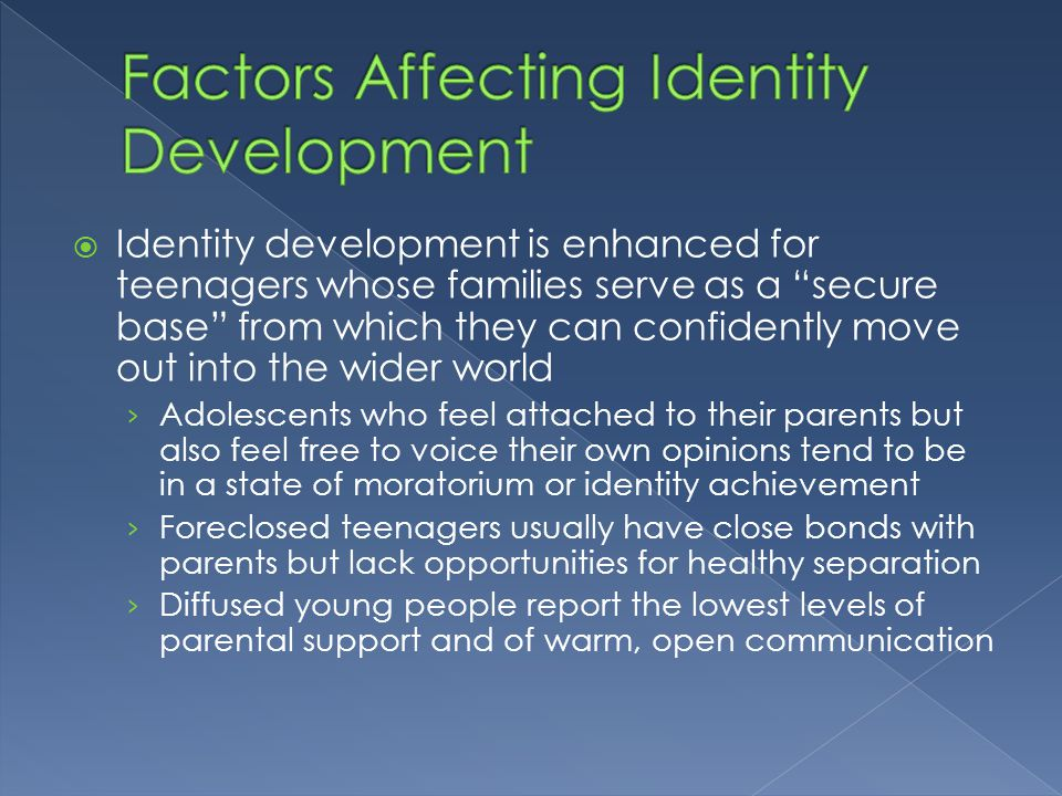 factors affecting moral development The following are the most important factors that influence moral development family, which takes four influence forms the family's behaviour acts as a model for the behaviour of the.