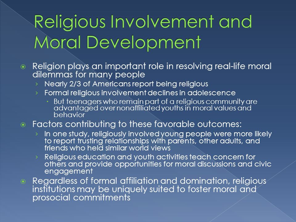 islamic values and moral development If we mean islamic values moral values in islam aim to determine human activity in a and islam cares for development of moral feeling in human.