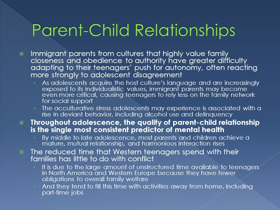 parent child relationships 1 secure relationships this is the strongest type of attachment a child in this category feels he can depend on his parent or provider.