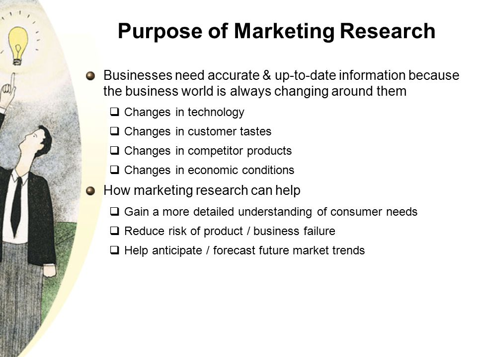 purpose of marketing research The purpose of this guide is to provide advice on how to develop and organize a research paper in the social sciences.