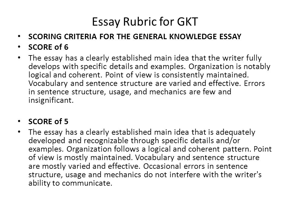 General Knowledge Test (GK) (082)