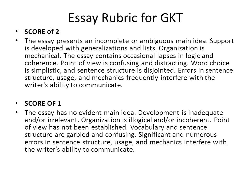 gkt essay New blog updates i jsut created this  is anyone taking the reading gkt in july  and i focused my essay on economic diversity,.