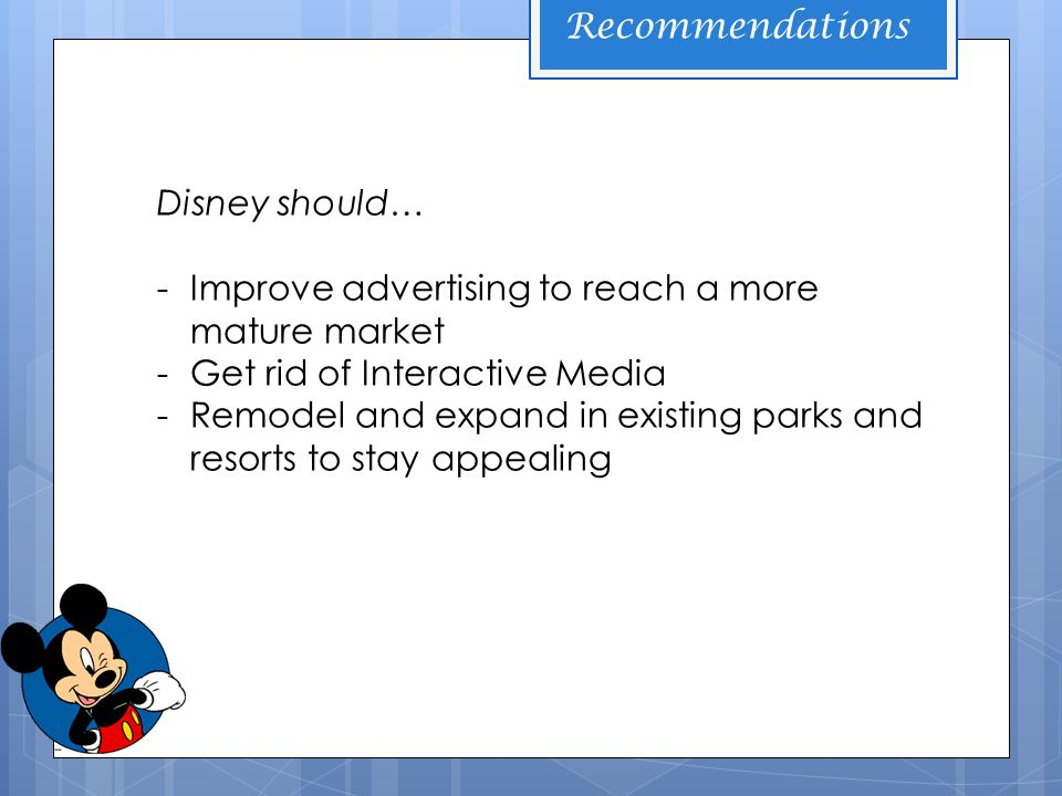 utv and disney strategy case analysis Utv and disney - download as word  - international strategy - utv is looking for   .