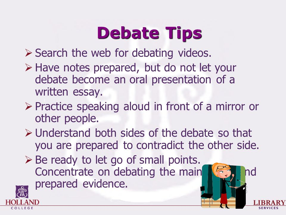researching for a debate ppt video online  25 debate